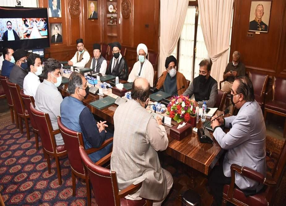 گورنر سندھ عمران اسماعیل سے جعفریہ الائنس کے وفد کی ملاقات
