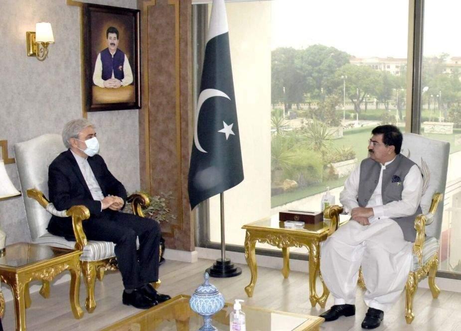 خطے کی فلاح و بہبود کیلئے تہران اور اسلام آباد کا موقف مشترکہ ہے، صادق سنجرانی