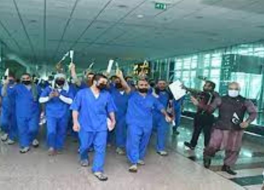 سعودی عرب سے 28 قیدی پاکستان پہنچ گئے