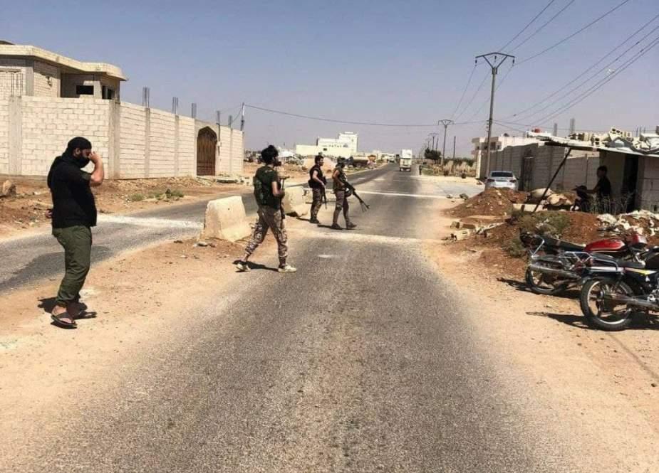 جزئیات تحرکات مشکوک آمریکاییها و انگلیسیها در جنوب سوریه