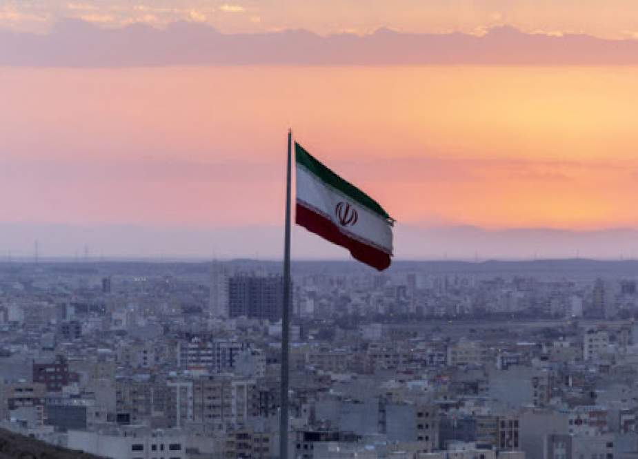 Iranian flag, Tehran.jpg