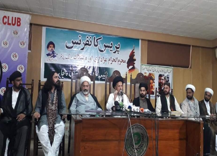 عزاداری کیخلاف رکاوٹیں بند نہ کی گئیں تو عاشورہ جلوسوں کو احتجاجی دھرنوں میں تبدیل کر دینگے، شیعہ علماء کونسل