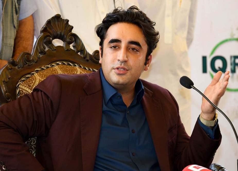 عمران خان کی وجہ سے ملک میں ناامیدی بڑھ رہی ہے، بلاول بھٹو زرداری
