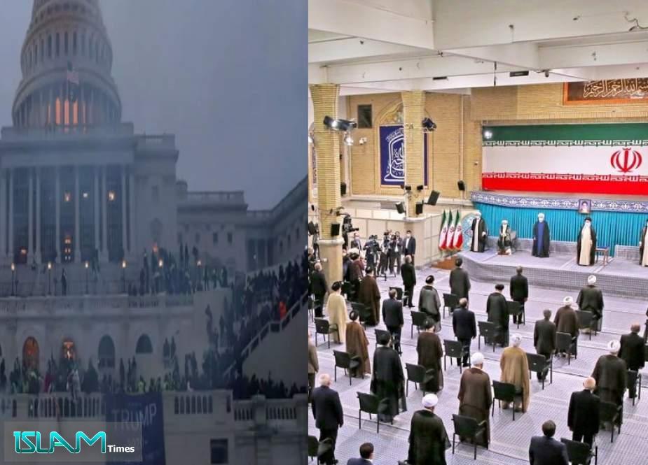 US Barbarism versus Iran Democracy: Contrasting Power Transition Speaks