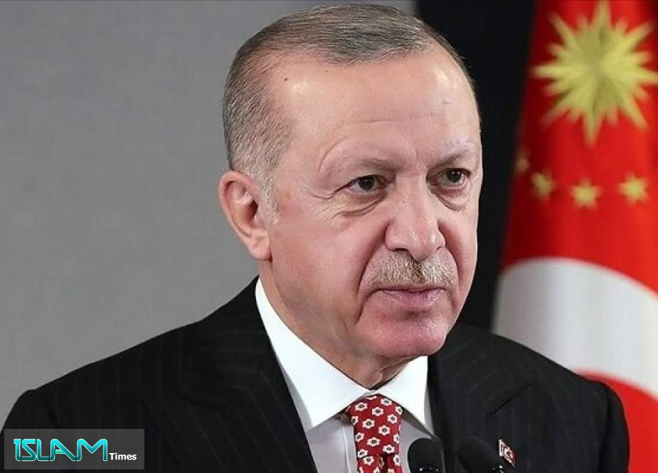 Erdogan Thanks Iran, Friends for Help in Fight against Fires