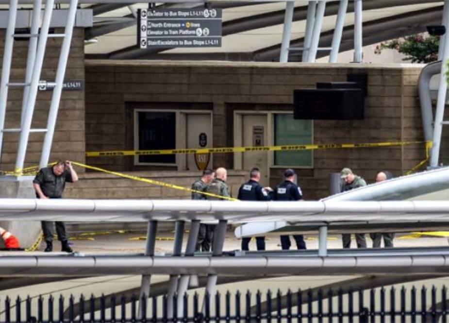 امریکی محکمہ دفاع کی عمارت کے قریب فائرنگ