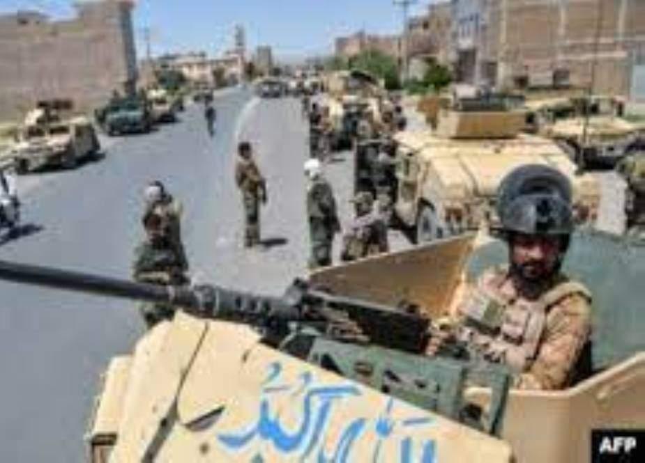 افغانستان، طالبان کا ہلمند کے دارالحکومت کے بڑے حصے پر قبضہ