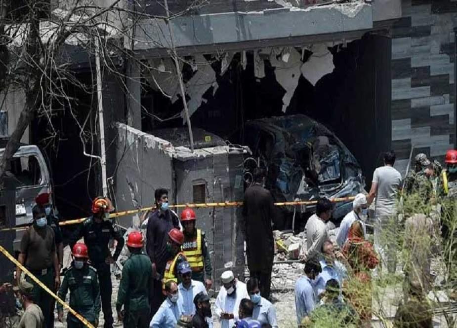 جوہر ٹاون دھماکے سے قبل لاہور پولیس واردات سے آگاہ تھی، انکشاف