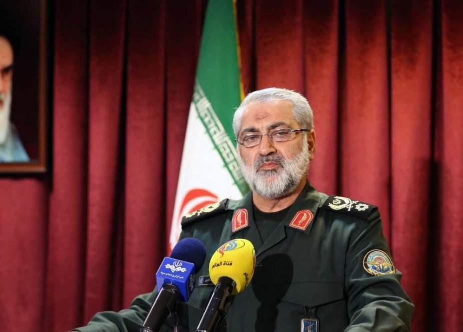 العميد شكارجي: لدى قواتنا إشراف تام على التحركات المشبوهة