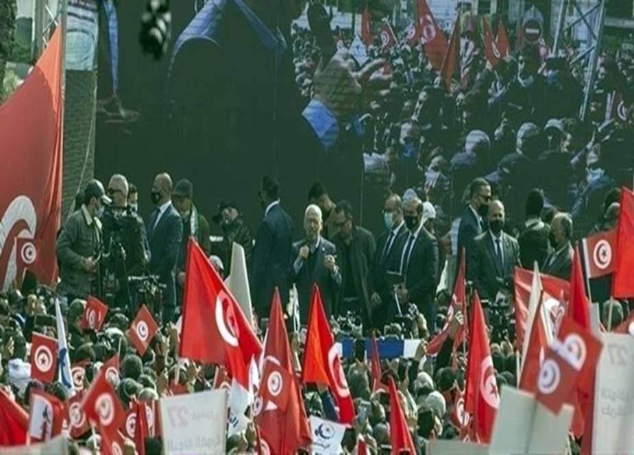 تیونس کے سیاسی بحران میں سعودی عرب اور اسرائیل کا کردار