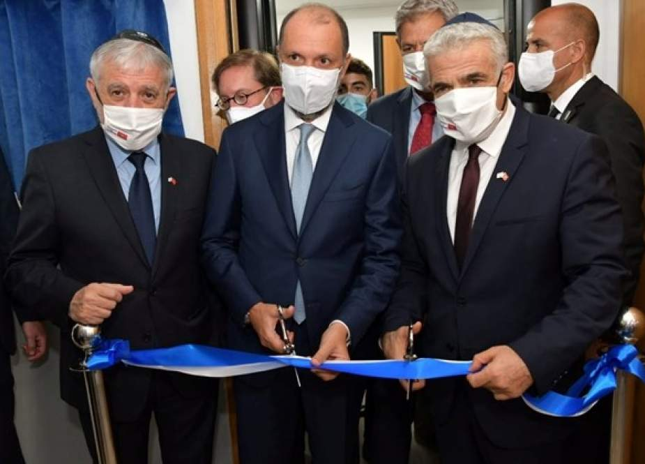 Zionist entity officially opened a liaison office in Morocco.jpg