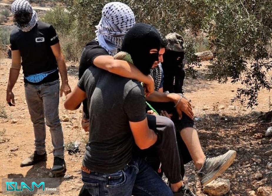 Anti-Settlement Palestinian Protesters Attacked by Israeli Forces in West Bank
