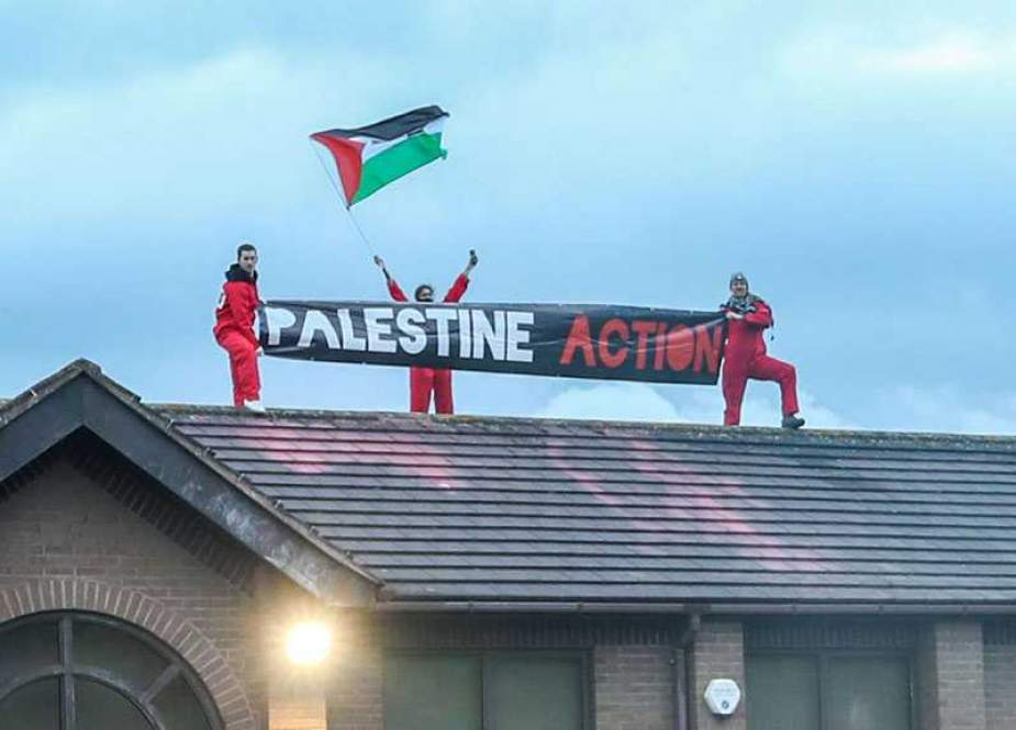 Activists occupy 'Israeli' Arms Factory in UK