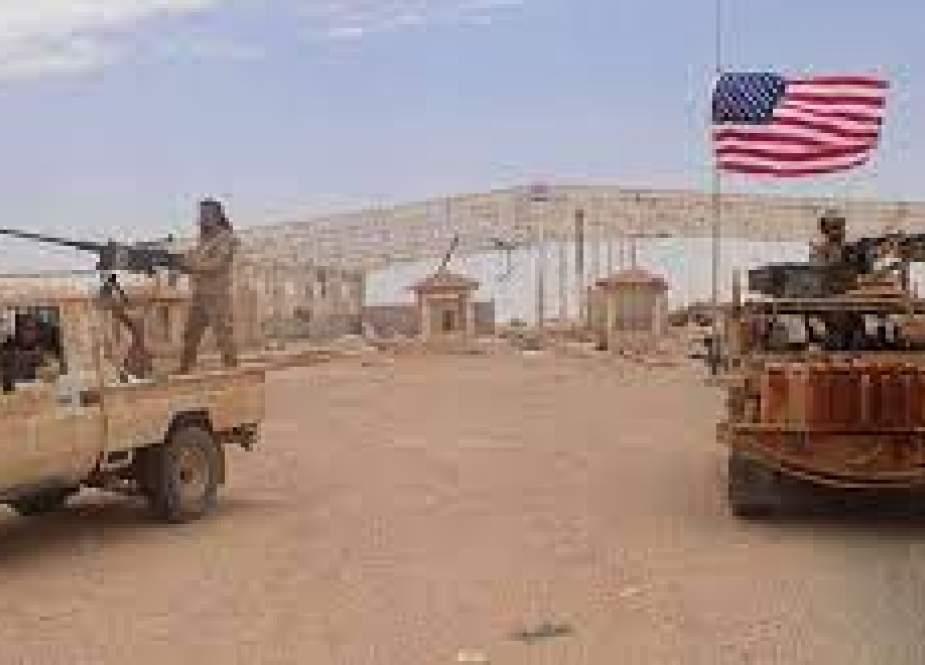 حمله موشکی به پایگاه نظامیان آمریکا در دیرالزور سوریه