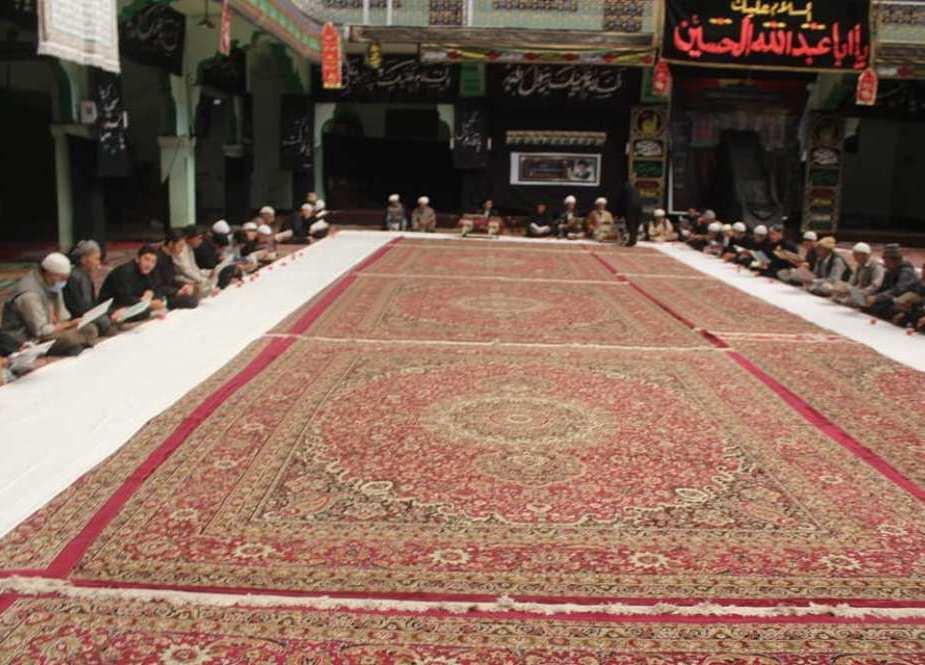 جمعیت العلماء اثنا عشریہ کرگل کے زیر اہتمام آیت الله سید محمد سعید الحکیم کی یاد میں مجلس ترحیم