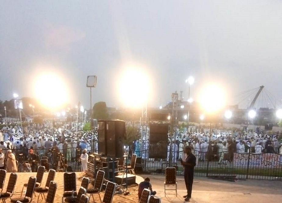 لاہور، مینار پاکستان گراونڈ میں تحفظ ختم نبوتﷺ کانفرنس