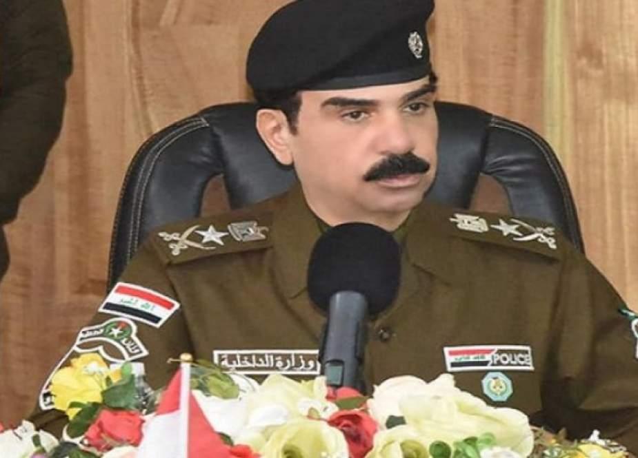 قائد شرطة الأنبار يكشف عن نتيجة عملية سور بغداد الأمني