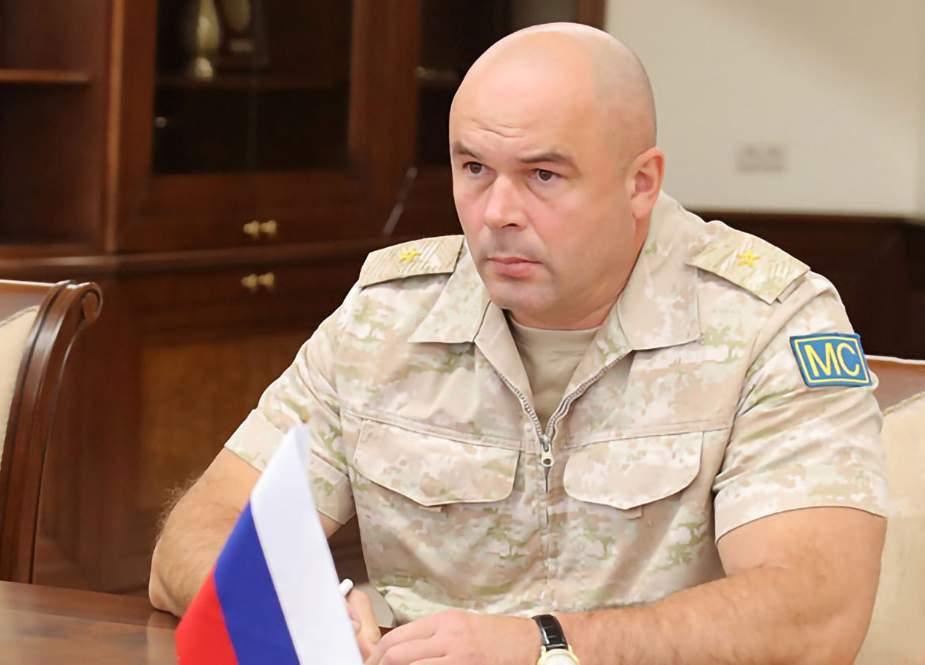 Rusiya sülhməramlılarının yeni komandanı İrəvana getdi