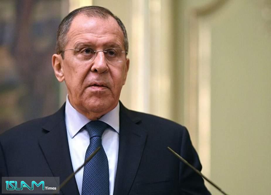 لافروف: يجب استعادة وحدة أراضي سوريا