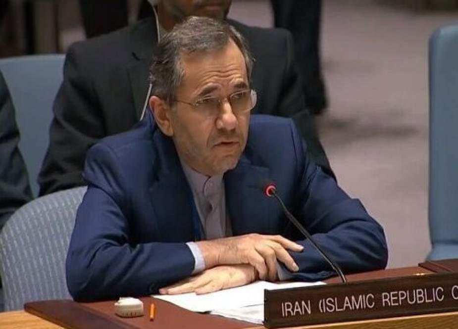 Majid Takht-Ravanchi, Iran's envoy to the United Nations