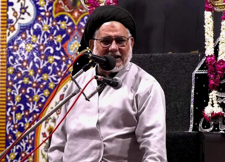 اتحاد کی دعوت دینے والوں کیخلاف مقدمات کسے خوش کرنے کیلئے بنائے جارہے ہیں، علامہ حسن ظفر نقوی