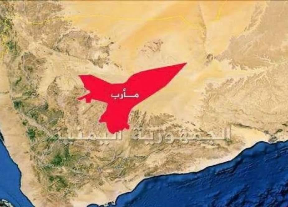 طيران العدوان السعودي يدمر ويحرق منازل المواطنين في مأرب