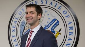Tom Cotton, Republican member of Senate Armed Services Committee.webp
