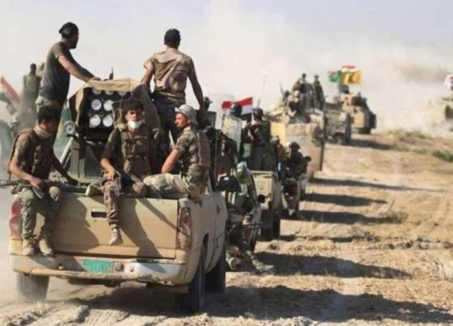 الحشد يطلق عملية كبيرة لتعقب عناصر داعش عند حدود سوريا