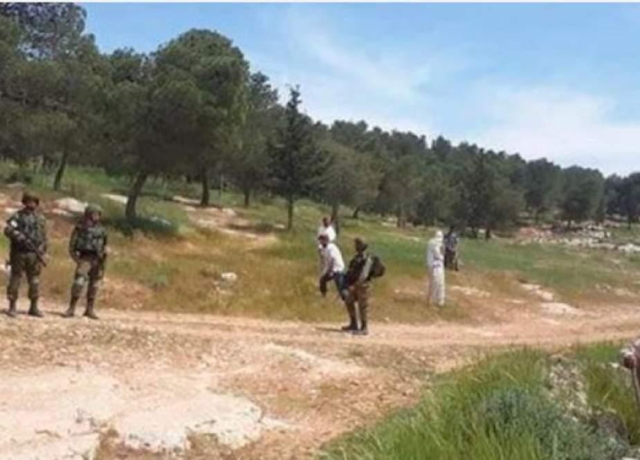 اقتحام المستوطنين لمناطق أثرية في بيت لحم