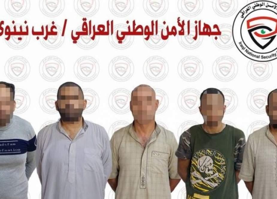 القبض على خمسة دواعش في نينوى بينهم مسؤولون