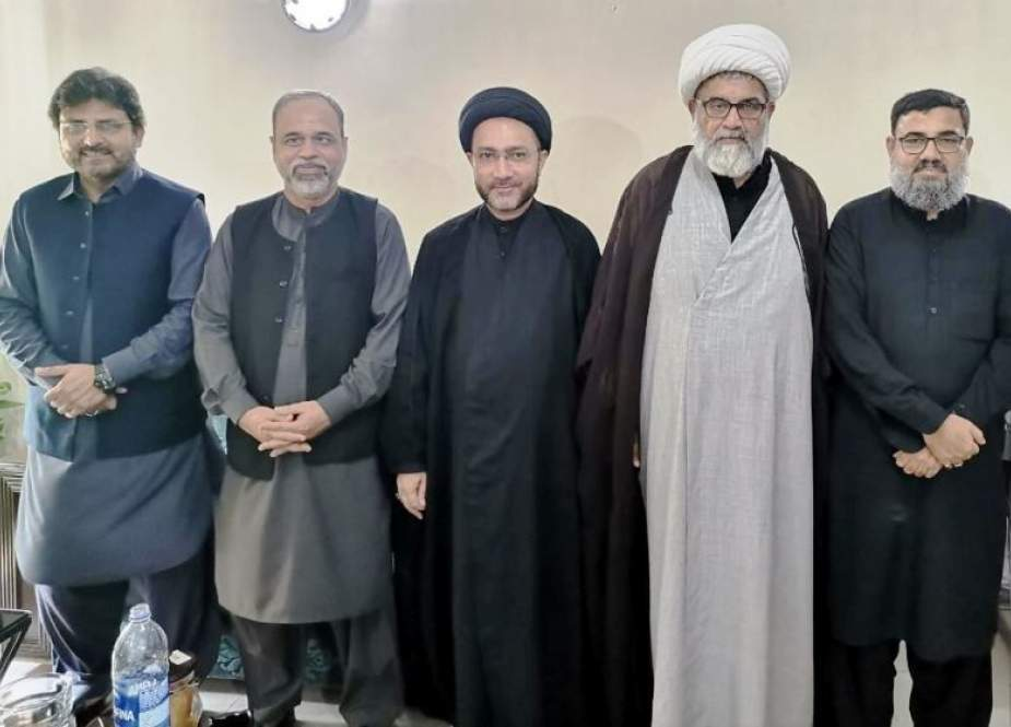 علامہ شہنشاہ نقوی کی مجلس وحدت مسلمین کی مرکزی قیادت ملاقات، اہم اُمور پر تبادلہ خیال