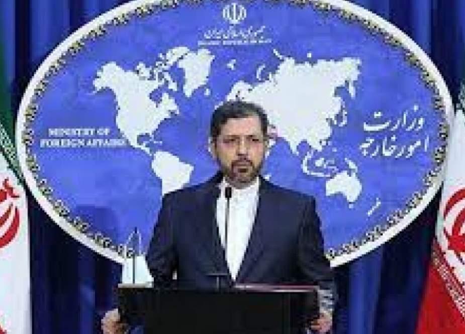 ايران تدين بشدة البيان المعادي الصادر عن اللجنة الرباعية للجامعة العربية