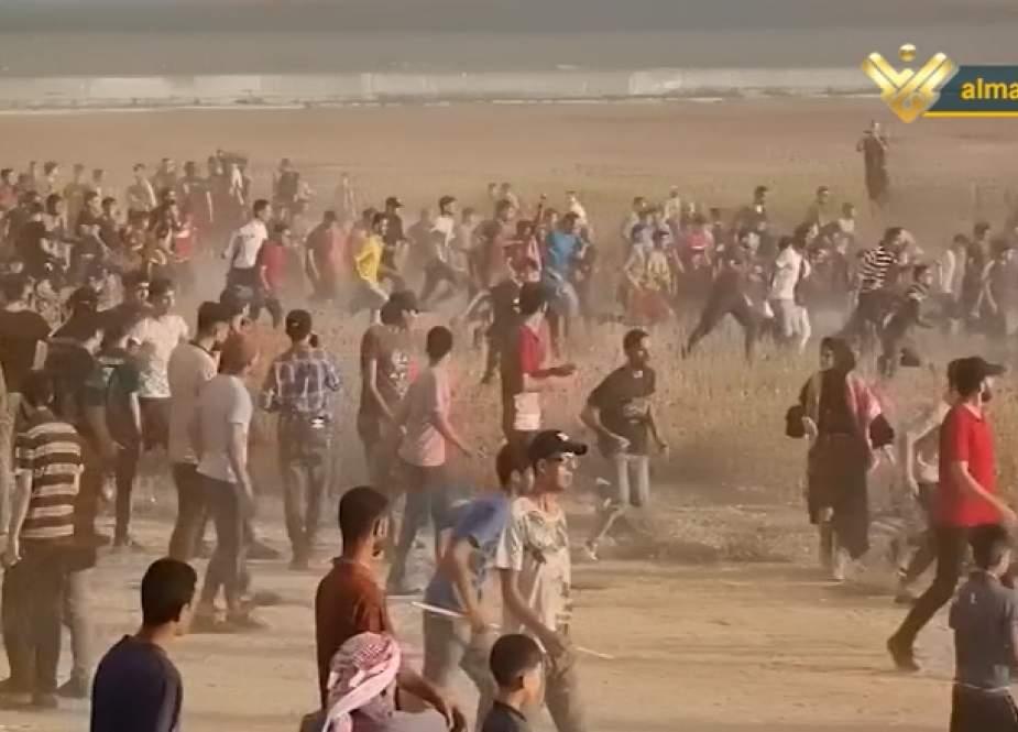 Palestinian rage