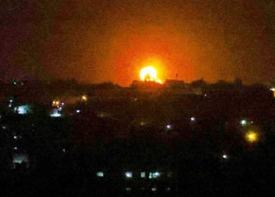 طائرات الإحتلال تقصف مواقع في غزة