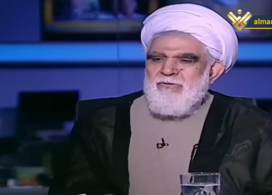 Sheikh Mohammad Hasan Akhtari, The Chairman of the Supreme Council of the AhlulBayt (a.s.) World Assembly.png