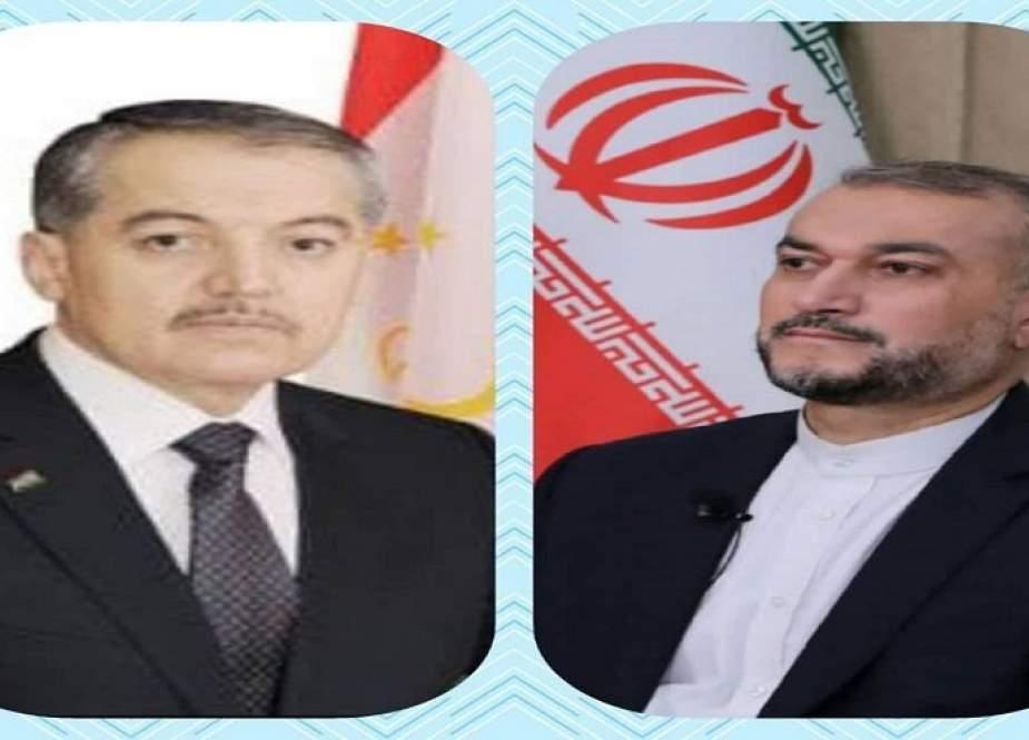 وزير الخارجية الايراني يهنئ بذكرى استقلال طاجيكستان