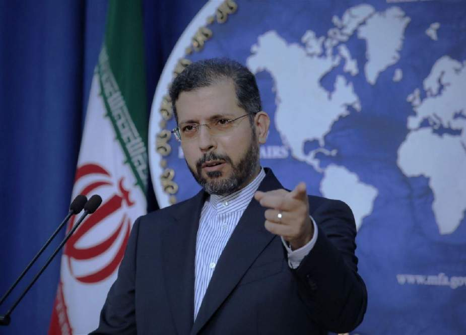 Saeed Kahtibzadeh, Iranian Foreign Ministry Spokesman