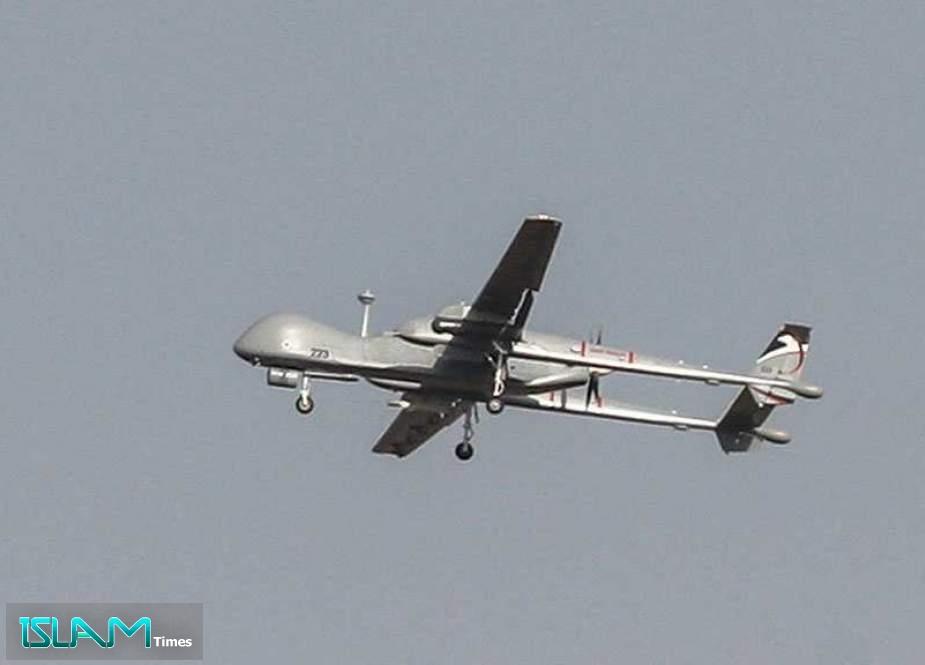 Palestinians Shoot down 'Israeli' Drone Western Ramallah