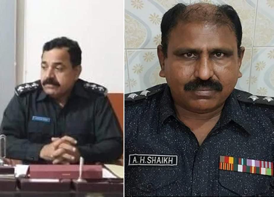 کراچی، پولیس افسران بھی منشیات فروشی میں ملوث نکلے