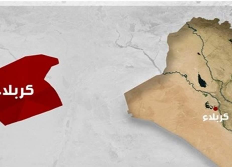 ثلاثة انفجارات شمال غربي محافظة كربلاء المقدسة