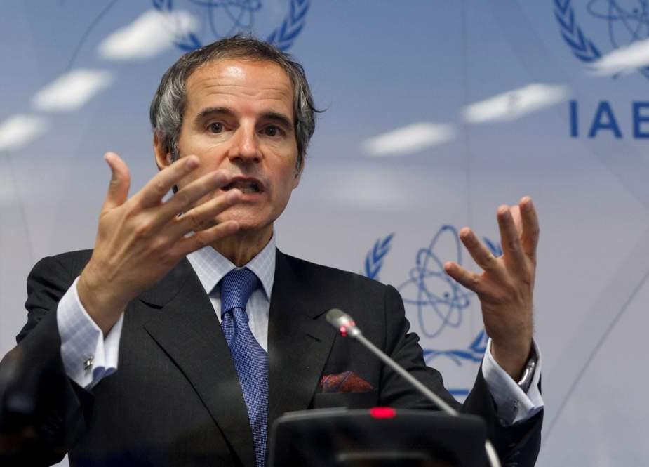 مدير الوكالة الدولية للطاقة الذرية يزور طهران
