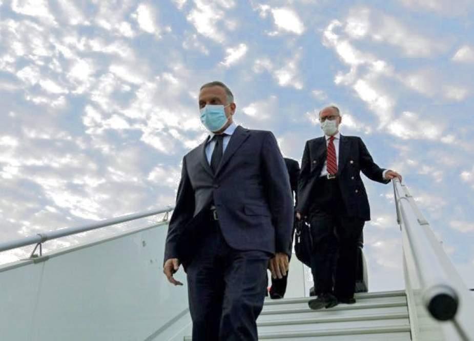 الكاظمي يبحث العلاقات الإيرانية السعودية في طهران