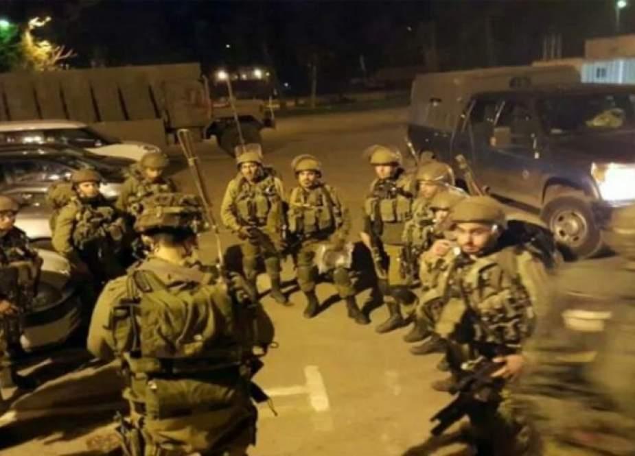 عملية عسكرية واسعة لجيش الاحتلال لملاحقة كممجي ونفيعات