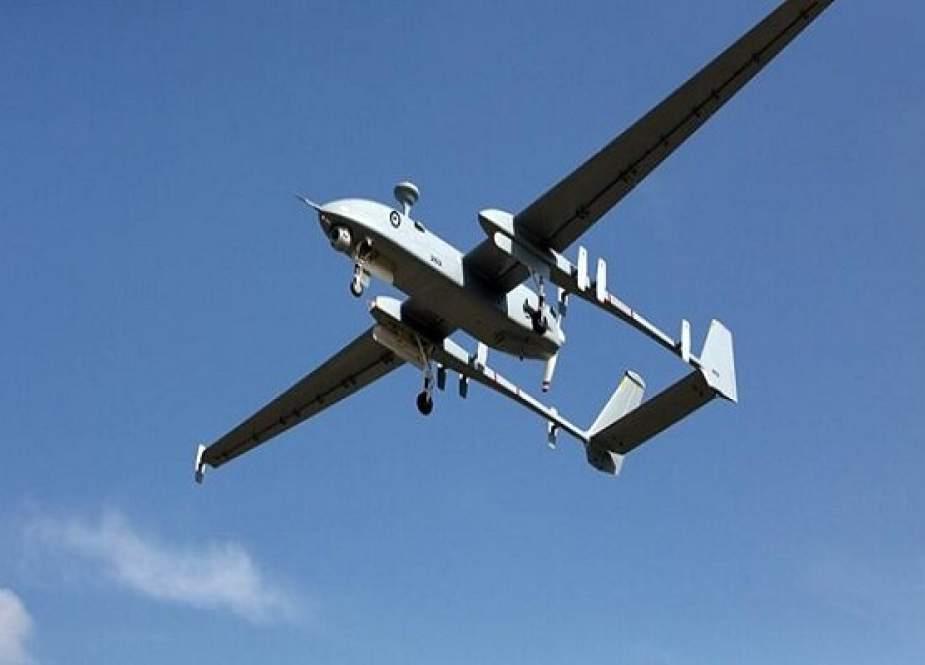 Warga Palestina Menembak Jatuh Drone Israel