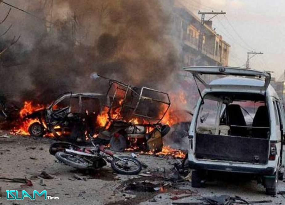 Explosion in Pakistan