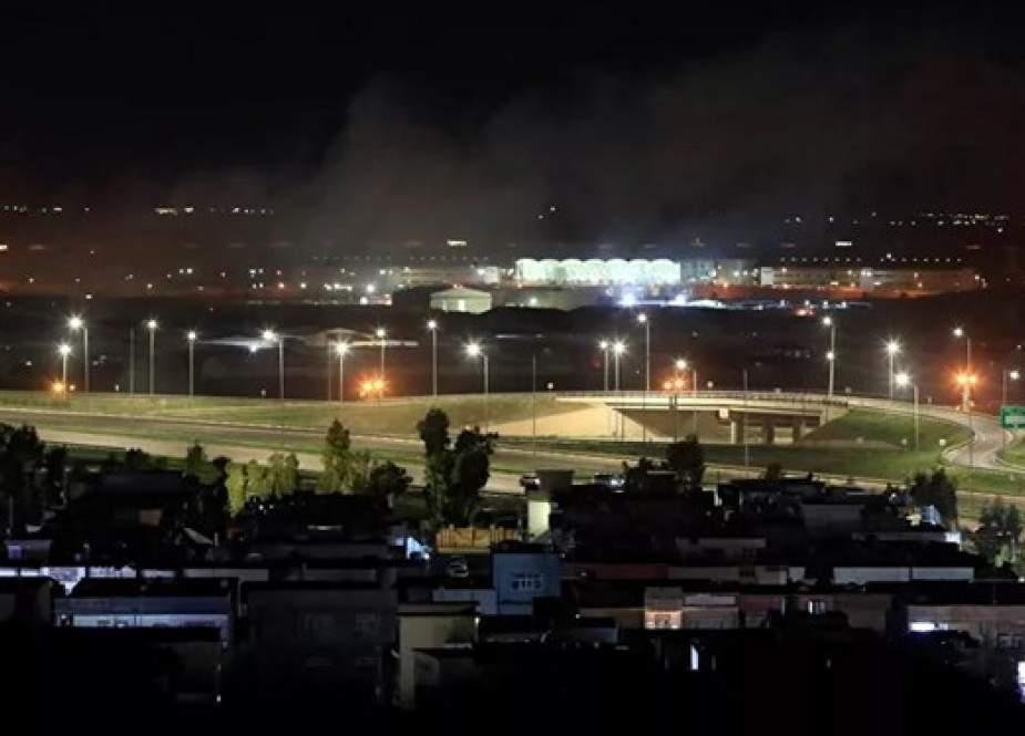 استهداف قاعدة أمريكية شمال العراق بطائرات مسيرة
