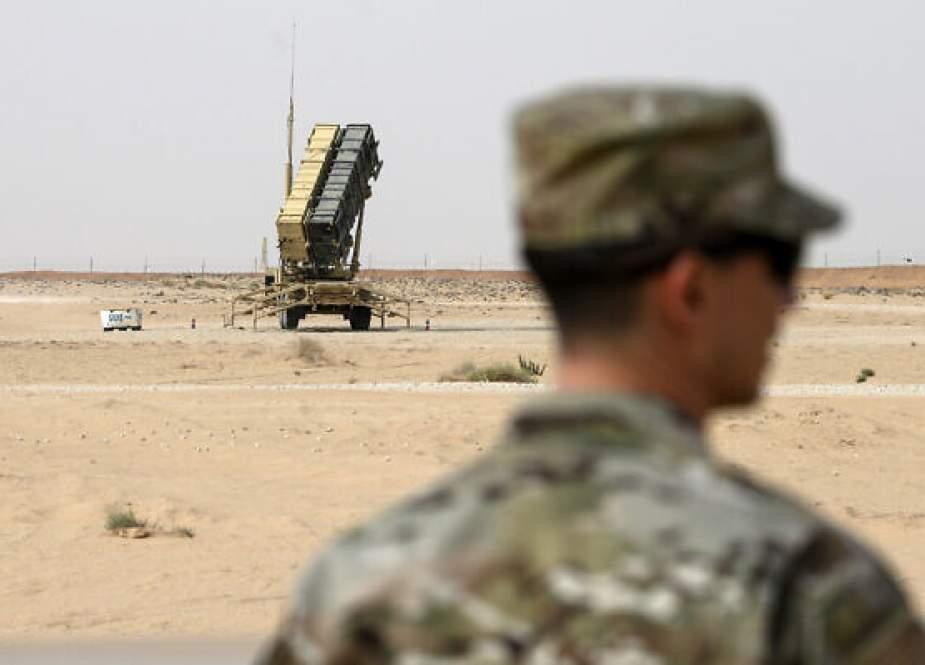 Patriot missile battery at Prince Sultan Air Base in Saudi Arabia.jpg