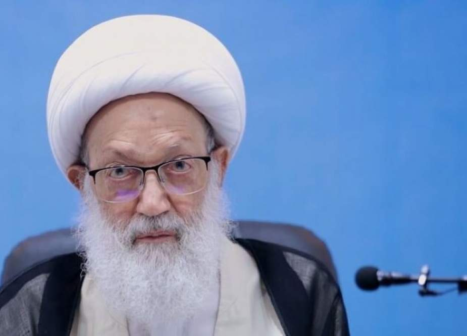 بيان لآية الله عيسى قاسم حول حقوق شعب البحرين