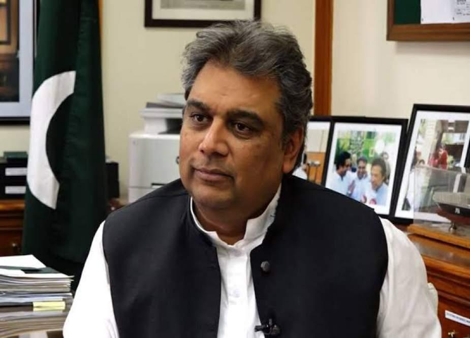 الیکشن کمیشن کو چیلنج کرتا ہوں دورہ کئے گئے پولنگ اسٹیشن کا بتائے، علی زیدی