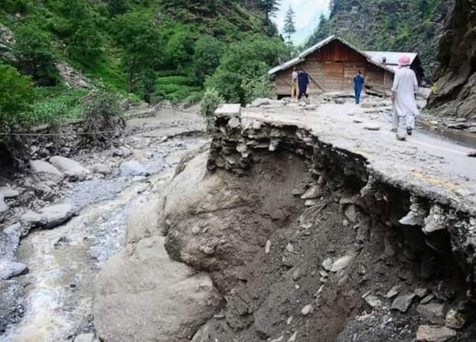 تورغر میں شدید بارشوں کے باعث 14 افراد جاں بحق
